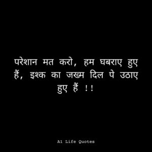 life attitude quotes in hindi