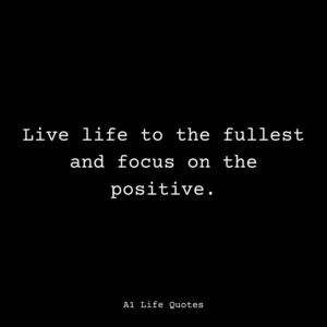 positive attitude thought of the day
