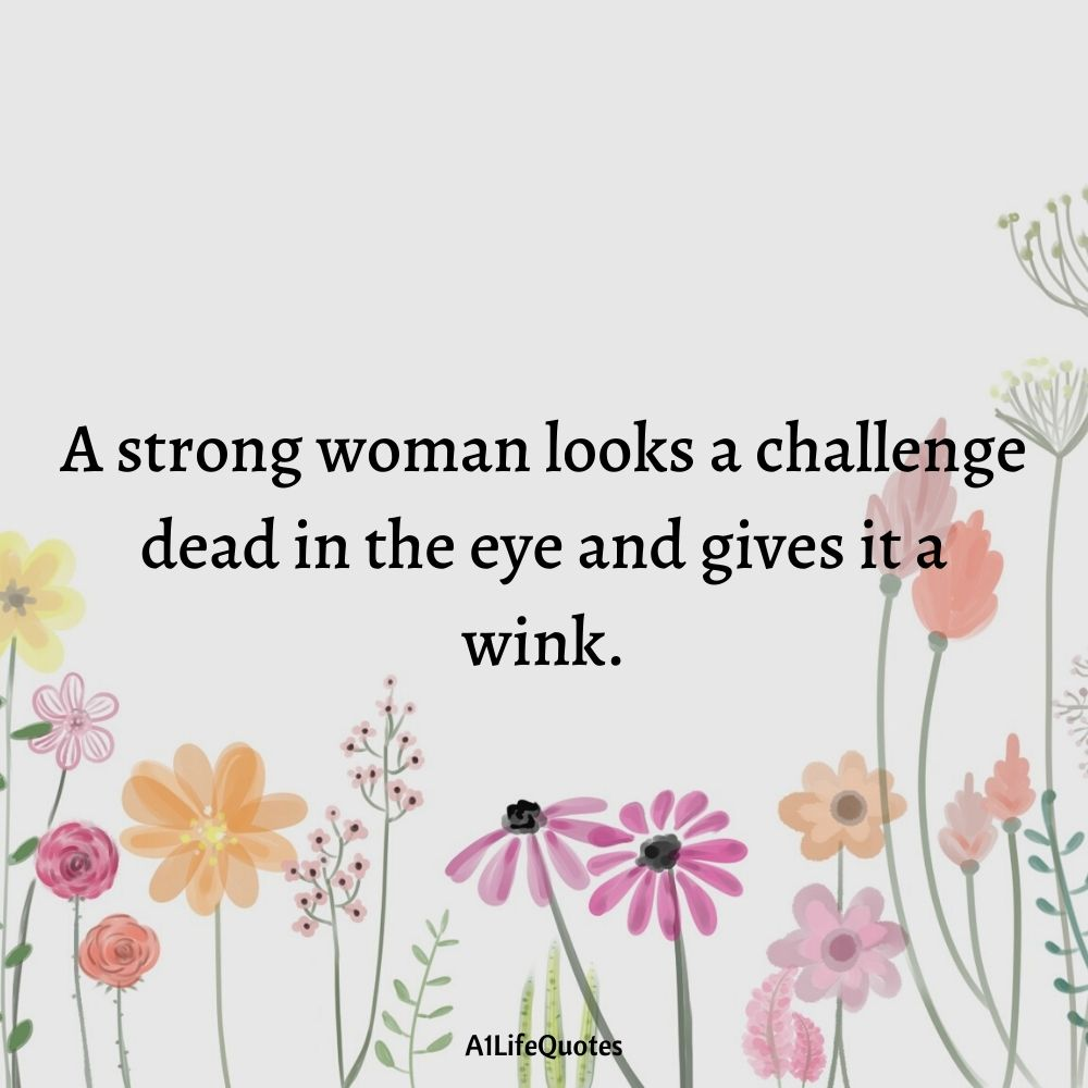 quotes on woman strength