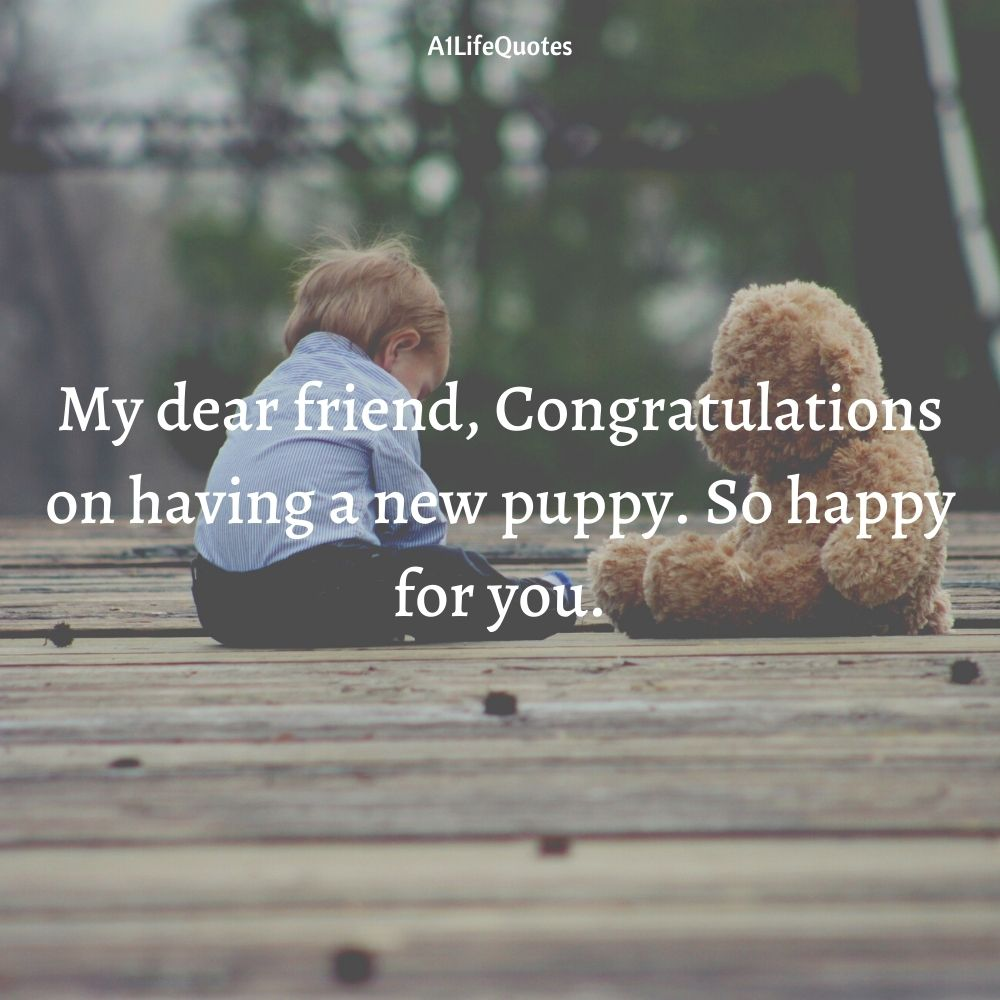 welcome home puppy quotes