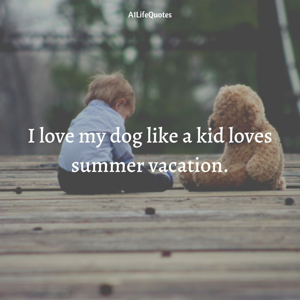 dog and human love quotes