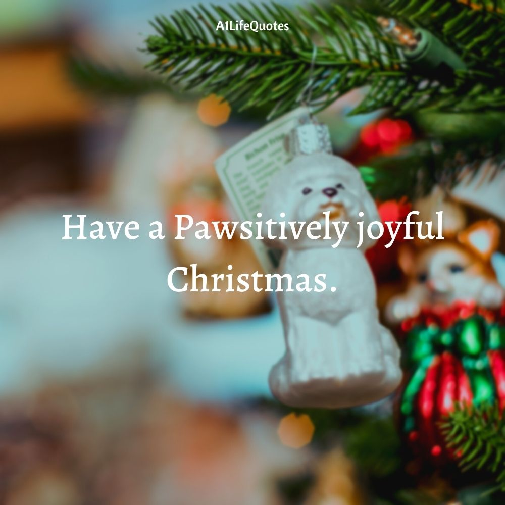 funny christmas dog quotes