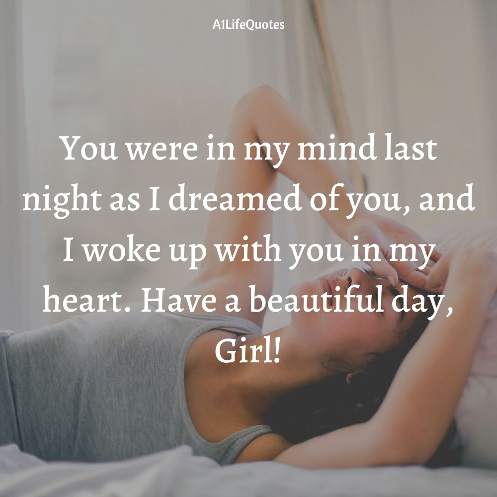 good morning beautiful quotes for her