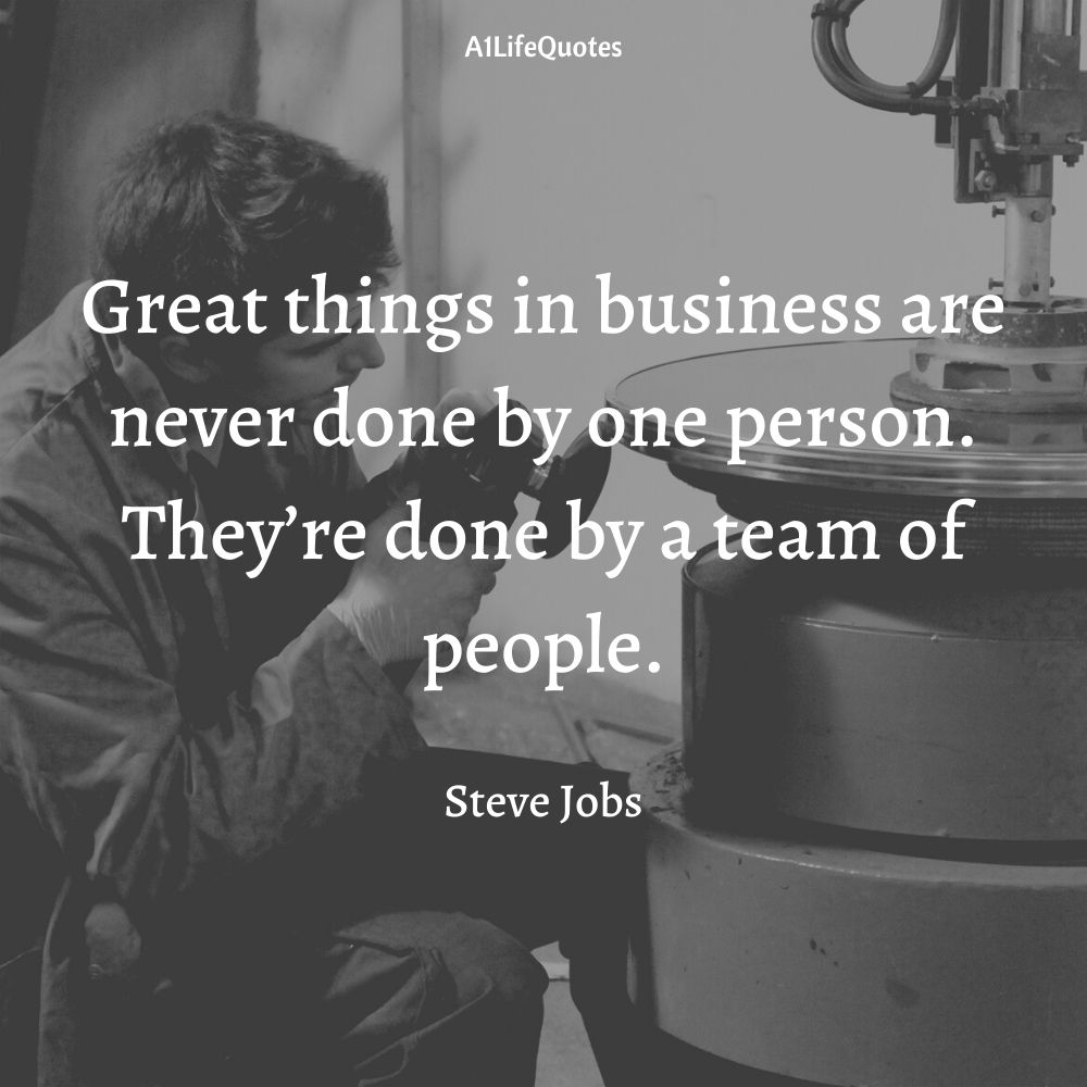 inspirational teamwork quotes for work