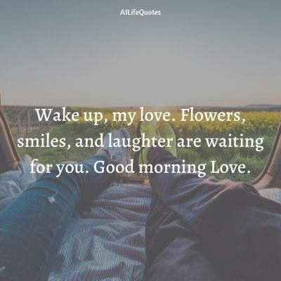 sweetheart good morning love quotes