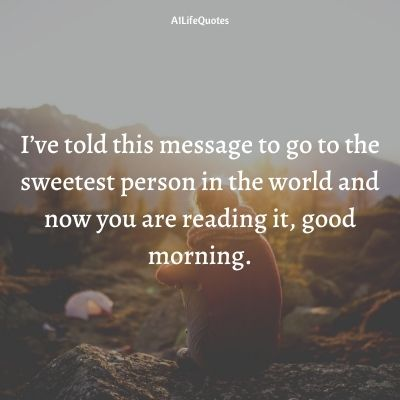 cute good morning love quotes for her
