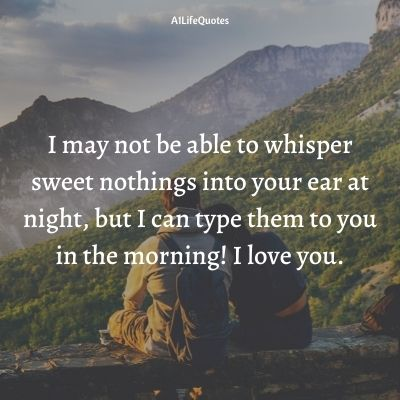 good morning love quotes for her from the heart