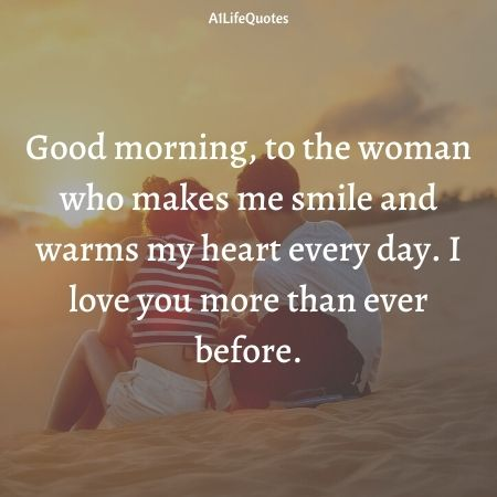 good morning i love you quotes for her