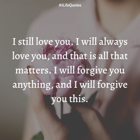 i will always love you quotes for her