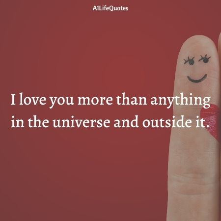 i love you more than anything quotes for her