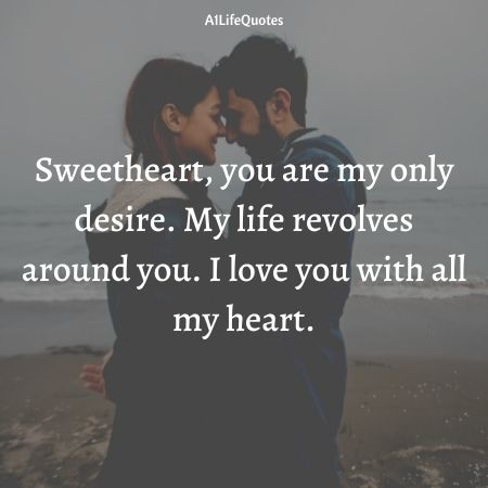i love you with all my heart quotes for her