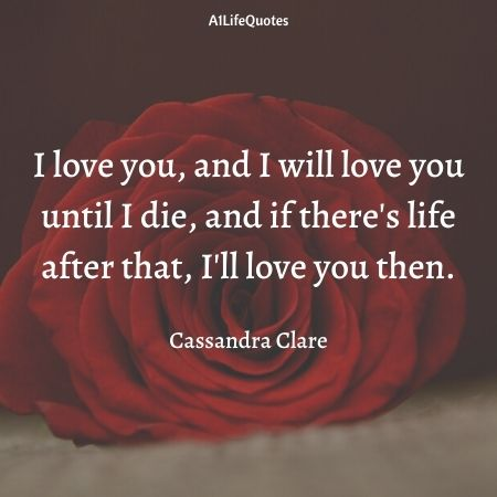 i only love you quotes for her