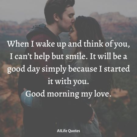 good morning i love you quotes for him