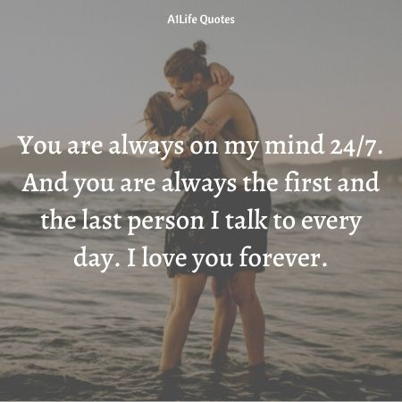 i love you forever quotes for him